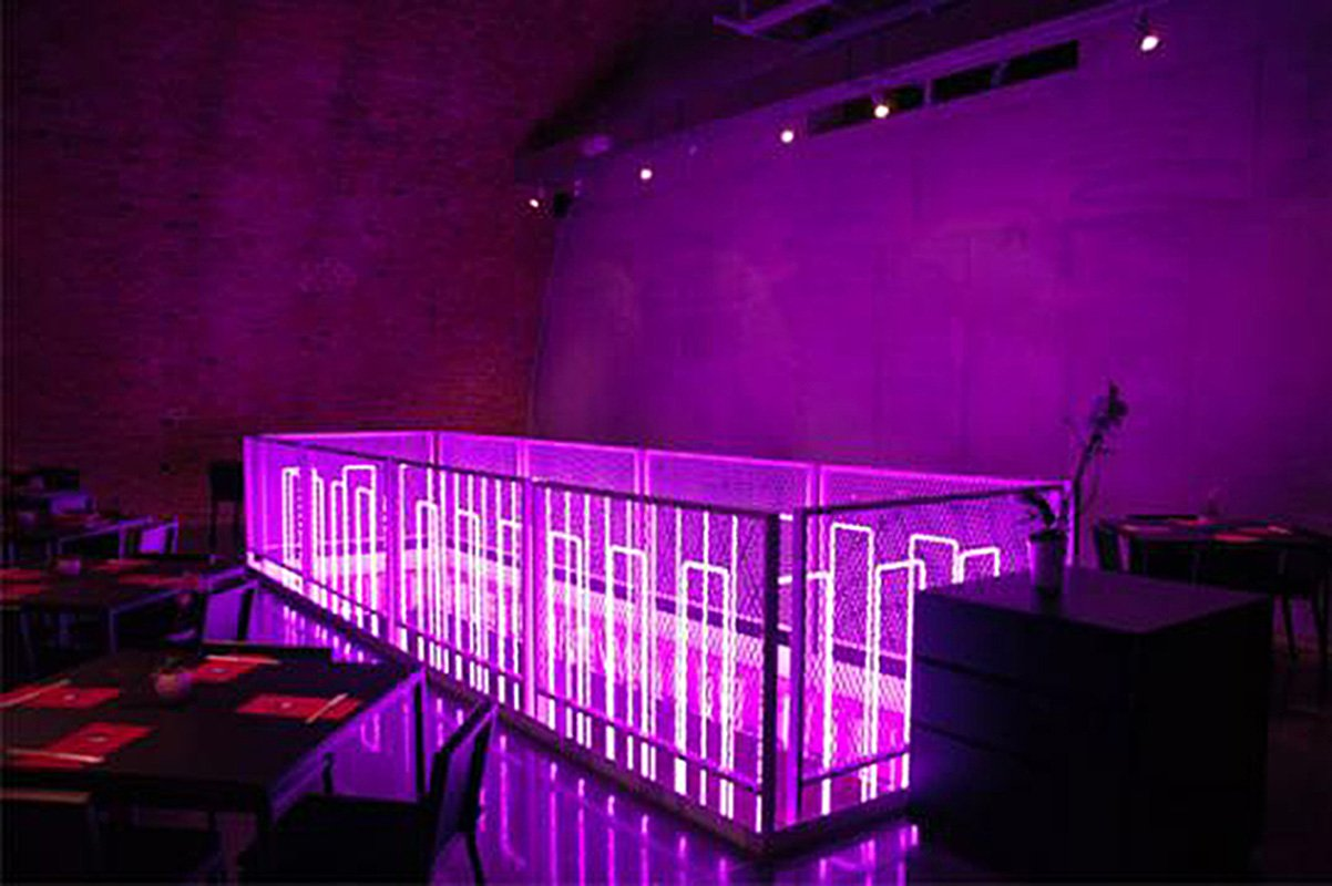 Neon Interior Design Restaurant Kroenland Com